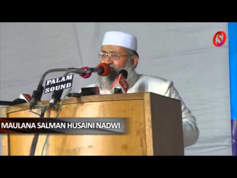 Sahilonline Bhatkal: Maulana Salman Hussaini Nadwi Speech At Aimplb Program In Jaipur video