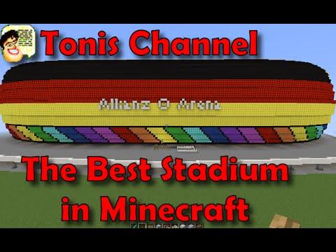 Allianz arena Bayern Munich Minecraft [Download]