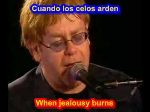 Elton John - Sacrifice  ( SUBTITULADO ESPA&Atilde;OL INGLES )