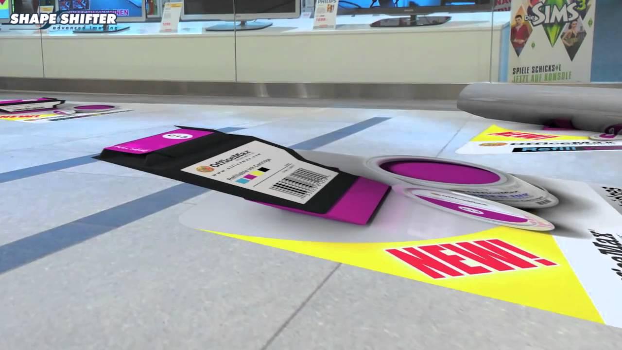 3d floor decals youtube for How to create 3d floor graphics