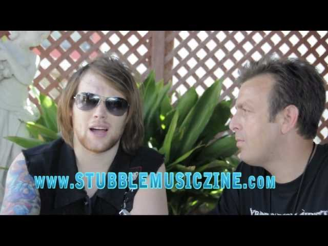 Asking Alexandria Interview @ Mayhem Fest 7-1-2012