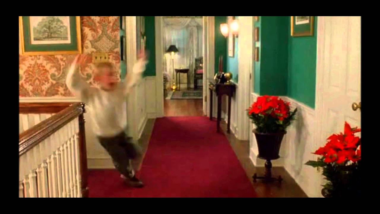 Home Alone Kevin Freakout Youtube