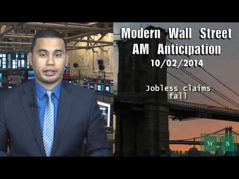 AM Anticipation: Stocks higher, jobless claims slip, Ebola confirmed in US