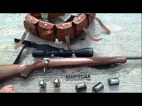 Ruger 77/22 Magnum (Range Report 4) by TheGearTester