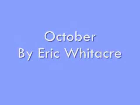 October By Eric Whitacre