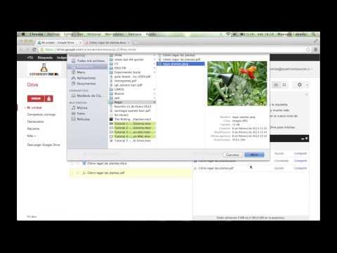 Tutorial 7 - Cómo subir archivos a google drive