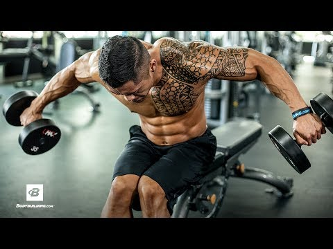 Shoulder-Gains Workout | IFBB Pro Jake Alvarez