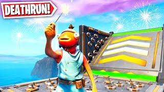 This Fortnite Deathrun can only be played today! (Fortnite Creative Mode)