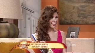 Alba Riquelme, miss Paraguay 2011,en levantate