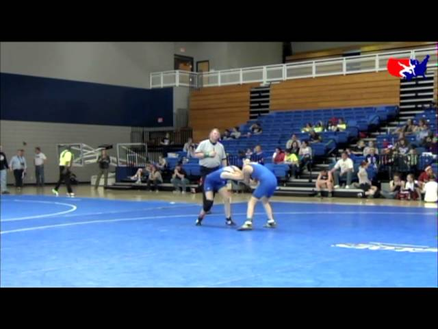 Girls Cadet 108 - CSF - Pamella Cerros (West Amarillo) vs. Hana Henderson