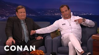 Please Don't Turn Will Arnett Into A GIF  - CONAN on TBS