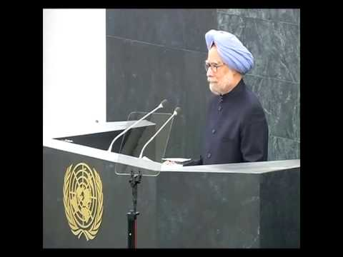 Manmohan Singh Address at UN General Assembly 2013