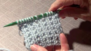 Faux Ribbing and Rice Stitch - Knitting Ribbing and Rice Stitches