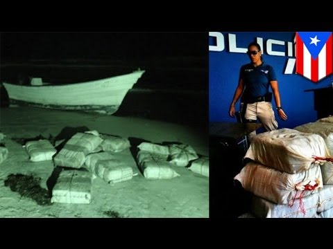 Dominican smuggler arrested in Puerto Rico with 1.5 tons of cocaine in a boat
