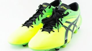 asics soccer shoes Spike asics DS LIGHT X-FLY 2 MS TSI741 Flash yellow / black   96292