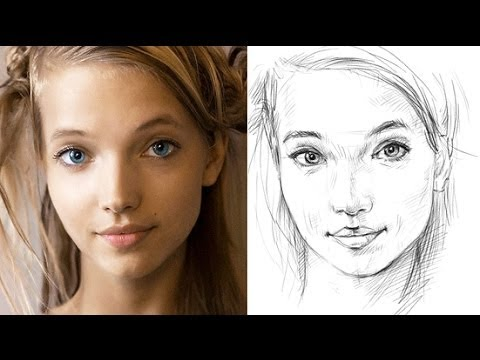 How To Draw A Face Accurately Exercises To Improve Your