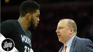 Karl-Anthony Towns' comments were a slap in the face to Tom Thibodeau - Tim MacMahon | The Jump
