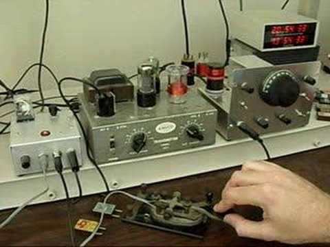 Ameco AC-1 CW QRP Transmitter and Homebrew Receiver | Vintage Ham Radio