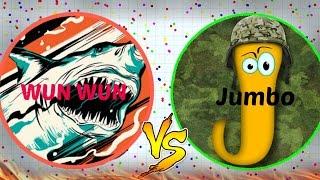 AGAR.IO | Wun Wun vs Jumbo!! Legend is back!?!