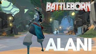 Official Alani Skills Overview - Battleborn