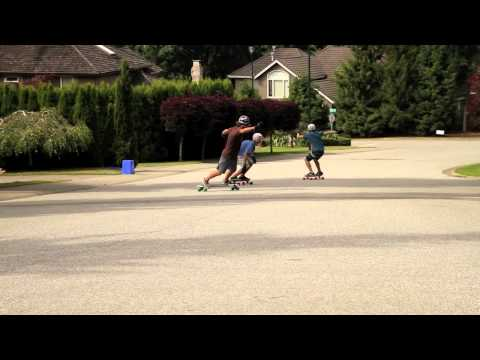 Longboarding: Stephen Salay in BC