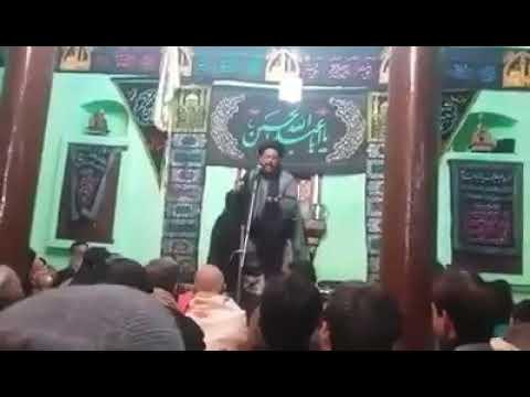 Late Maulana Athar Abbas Rizvi Majlis at Chholas Sadat India 2017