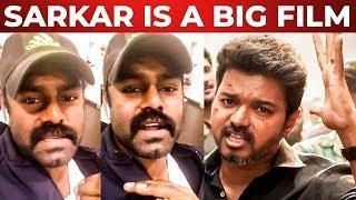"""SARKAR is a big movie""- R.K Suresh Request to Thala Ajith Fans"