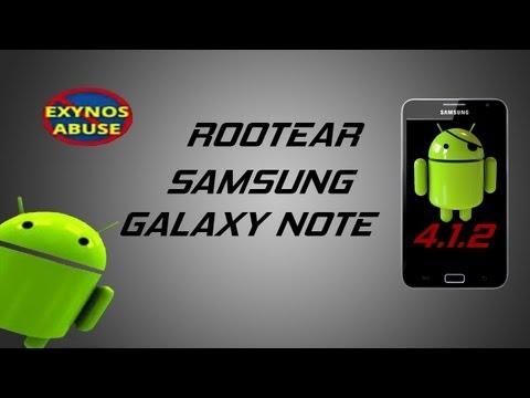 Como rootear el samsung GALAXY NOTE 1 GT-N7000