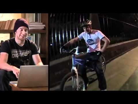 Behind The Scenes Of Inspired Bicycles.  Danny Macaskill. video