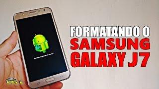 Formatando/Restaurando o Samsung Galaxy J7 (SM-J700)