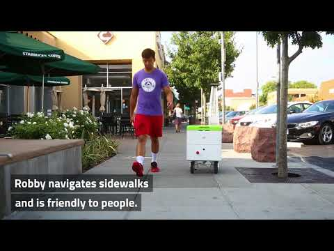 Robby: self-driving delivery robots