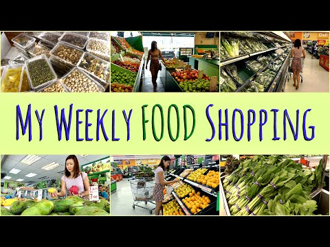 My Weekly FOOD Shopping (my grocery list)