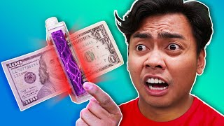 Trying Weird MONEY Gadgets You Never Knew About!