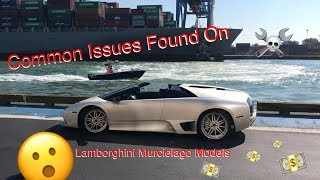 Common Issues Found On Lamborghini Murcielago Models