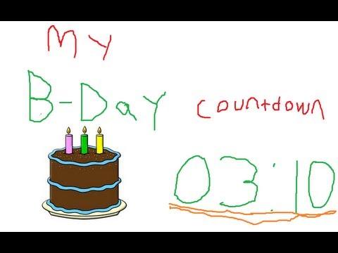 6 Days to go Birthday Episode 6 4 Days to go