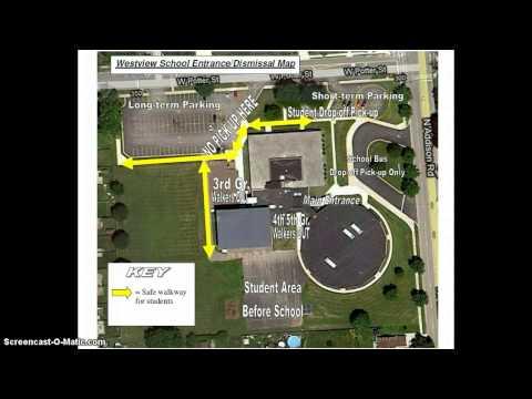 Westview School Entrance/Dismissal Procedures - 08/01/2013
