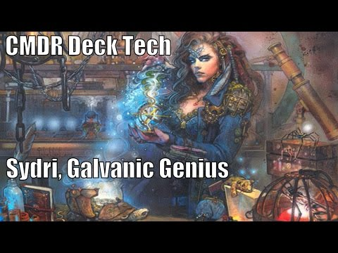 Shaun's Sydri, Galvanic Genius CMDR Deck [EDH / Commander / Magic the Gathering]