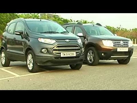 Ford EcoSport diesel and its contenders