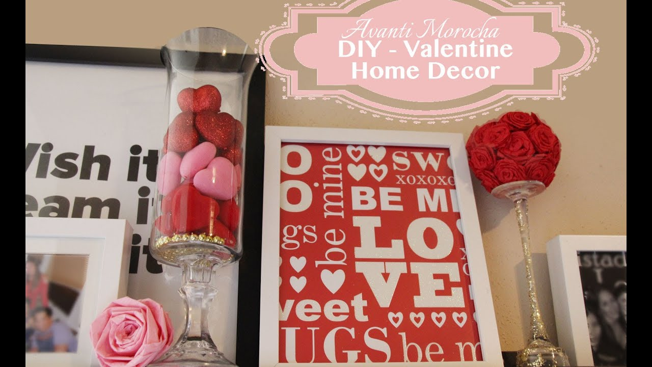 Diy Valentine Home Decor Ideas Para San Valetin Valentine Gifts Youtube