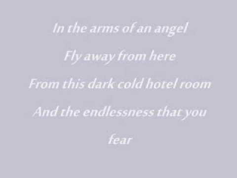 Arms Of An Angel - Sarah Mclachlan & Lyrics video