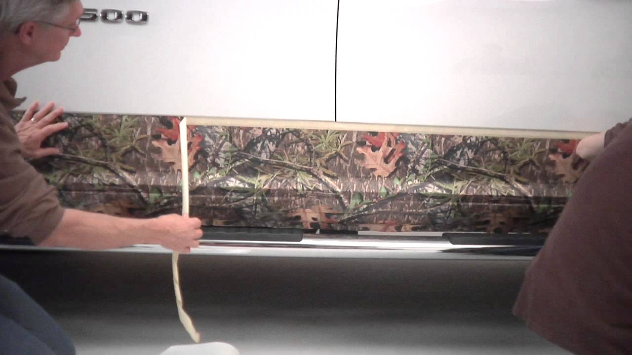Mossy Oak Graphics Camouflage Rocker Panel Kit