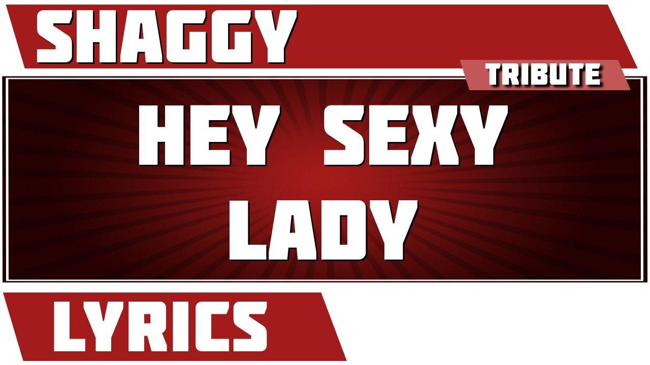 Hey lady lyric sexy