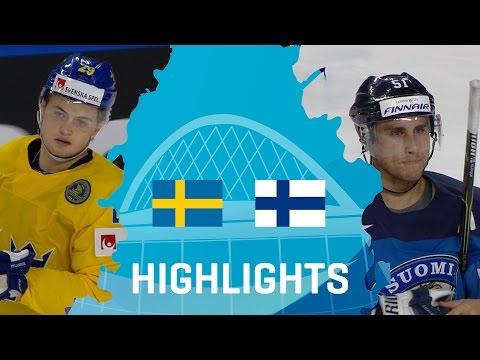 Sweden - Finland | Highlights | #IIHFWorlds 2017