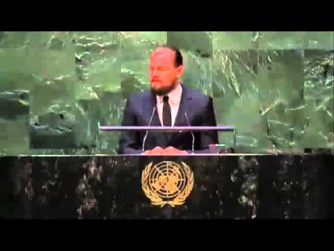 Leonardo DiCaprio's UN Climate Summit Speech 2014