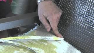 ModHomeEc 5 Minute Clinic: How to Attach Single Welt Cord into the Groove of a Cane Back Chair