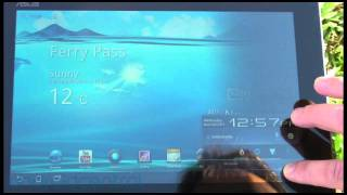 Super IPS+ button on the ASUS Transformer Prime