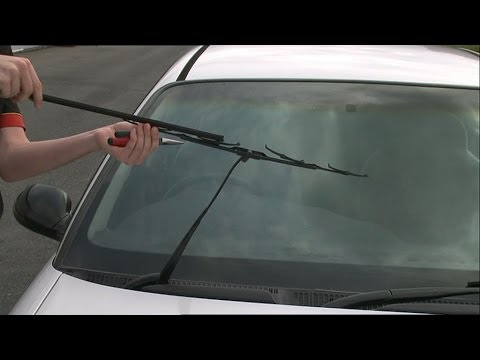 Changing Wiper Refill and Assembly