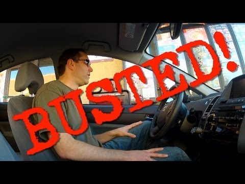 BUSTED AT McDONALDS!