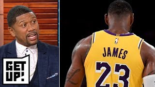 Jalen: Lakers fans expect LeBron James to be more clutch in overtime   Get Up!