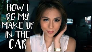 HOW I DO MY MAKE UP IN THE CAR | Toni Gonzaga